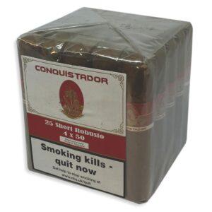 Conquistador Short Robusto bundle of 25