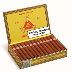 Montecristo No. 4 Cigar Box of 25