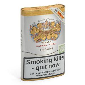 H Upmann Regalias tin of 5 cigars
