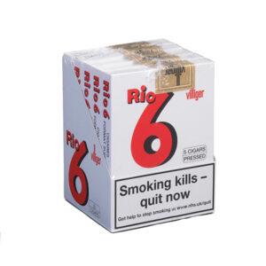 Villiger Rio 6 Cigar - 5 Packs of 5